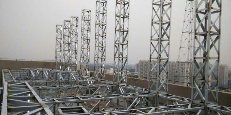 河北大型楼顶发光字如何提升抗台风能力